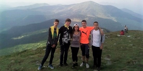 English-speaking children's summer camp in the Carpathians
